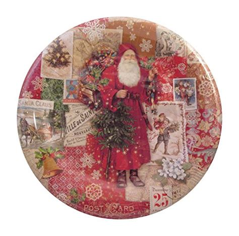 punch studio victorian christmas paper plates  napkins