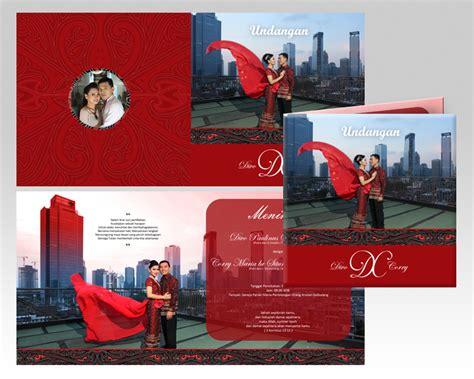 jasa desain kartu undangan pernikahan unik  murah sribu