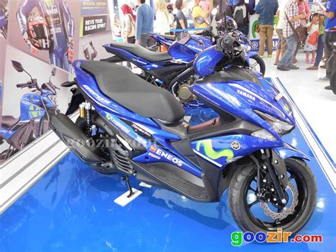 Kyb Zeto Aerox 155 harga asesoris resmi yamaha aerox 155 informasi otomotif mobil motor