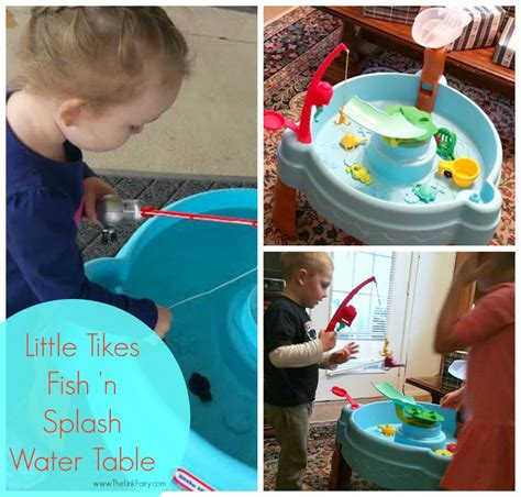how to play fish table tikes fish n splash water table review