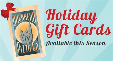 Restaurant Gift Cards Atlanta - atlanta restaurant gift cards from buckhead pizza co extra 20 free