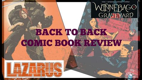 winnebago graveyard books comic book review winnebago graveyard 2 lazarus x 66