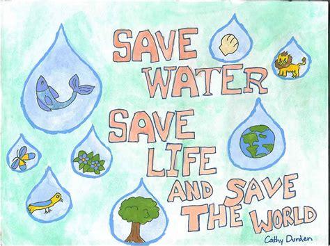 info dan tips contoh poster hemat energi air bersih terbaru
