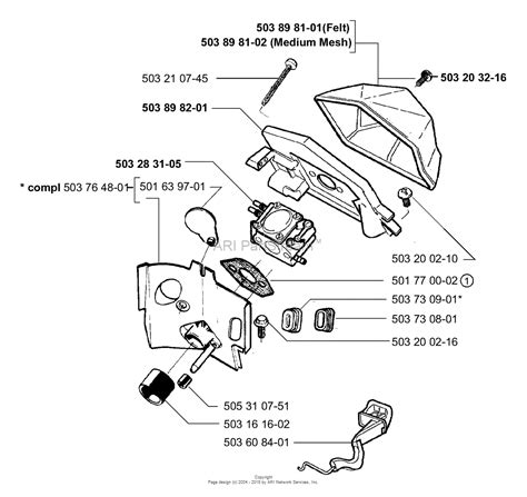 husqvarna 445 chainsaw parts diagram astonishing husqvarna 445 chainsaw parts diagram photos