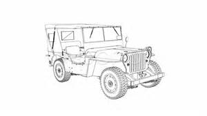 How To Draw An Army Jeep Draw Willys Jeep 1080p Hd 4k Stock Footage 977488