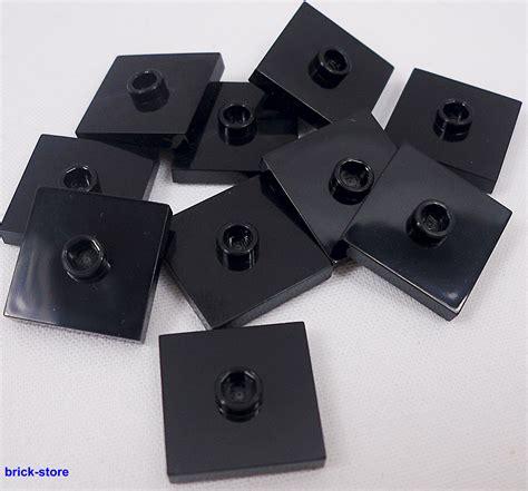 brick store de lego 174 schwarze 2x2 fliesen mit noppen