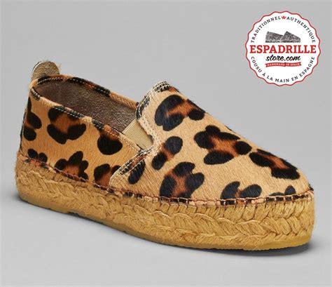leopard 6 litre espadrilles plateforme en imprim 233 l 233 opard pour femme