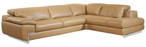 oregon italian leather modern sectional sofa