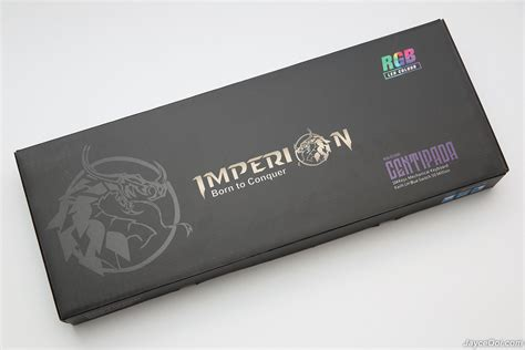 Keyboard Imperion imperion centipada rgb mechanical gaming keyboard review