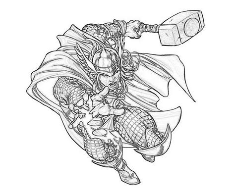 Collection of Avenger Chibs Assemble Coloring Page Wecoloringpage ...