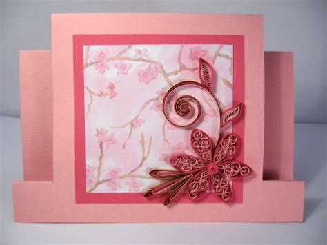 Handmade Paper Greeting Cards - quilled s day card handmade paper quilling card