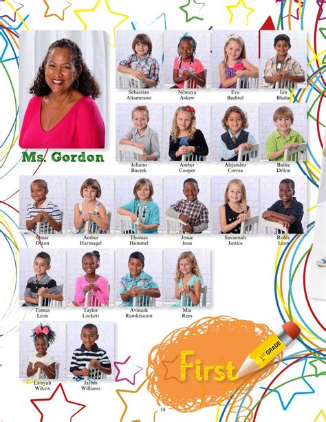 yearbook layout practice 46854 14 2015 elementary yearbook sle pages