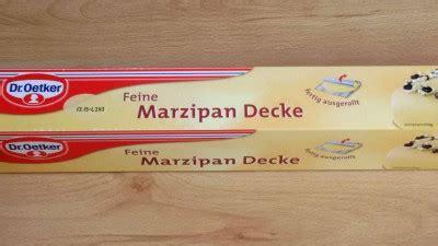Dr Oetker Marzipan Decke by Deppenleerzeichen Zum Thema Produktnamen