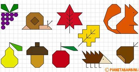 cornici da disegnare sul quaderno cornicette autunnali a quadretti da disegnare e colorare