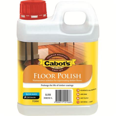 Floor Polishing by Cabot S 1l Floor Bunnings Warehouse