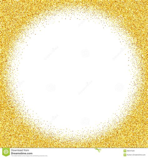 dust template abstract vector gold dust glitter background stock vector