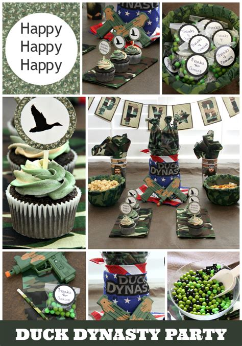 duck dynasty home decor duck dynasty birthday around my family table