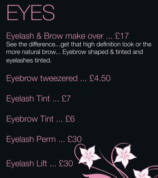 wedding hair and makeup lincoln uk eye makeovers tints eyelash perms and lifts