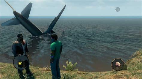 johnny plane crash saints row the third johnny gat s airplane crash site
