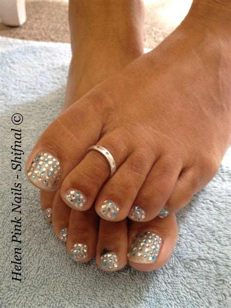 Gel Pedicure by Luxury Gem Gel Pedicure Nailed It Gel