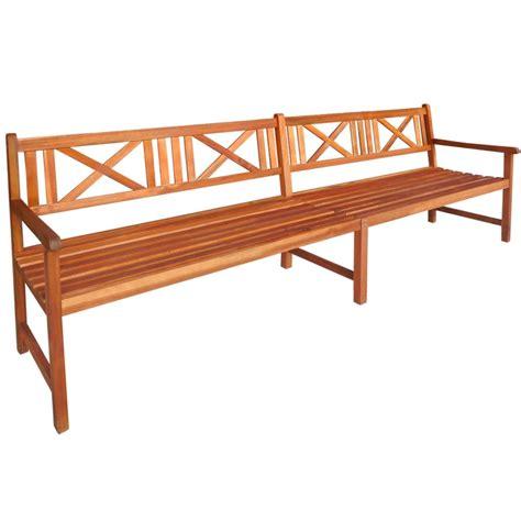 acacia bench vidaxl garden bench acacia wood vidaxl co uk