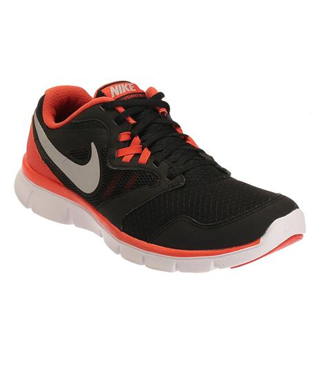 nike flex experience rn 3 black sports shoes price in