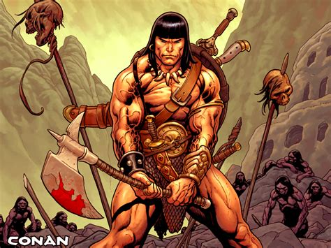 who fits in the role of conan the barbarian better