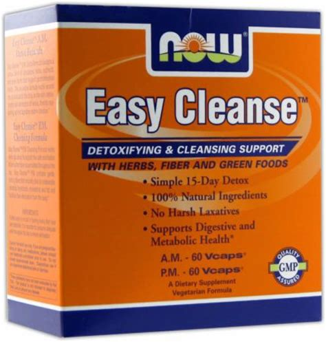 Easy Detox by Now Easy Cleanse At Bodybuilding Best Prices For Easy