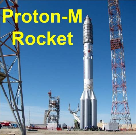 russian proton m russian proton m rocket carrying mexican satellite crashed