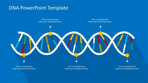 dna powerpoint template dna powerpoint template template design