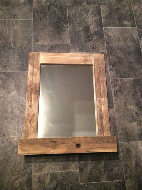 25 best ideas about rustic bathroom mirrors on