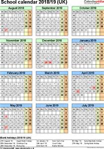 Eritrea Kalendar 2018 School Calendars 2018 2019 As Free Printable Word Templates