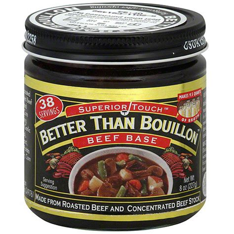 beef better than bouillon superior touch better than bouillon beef base 8 oz pack