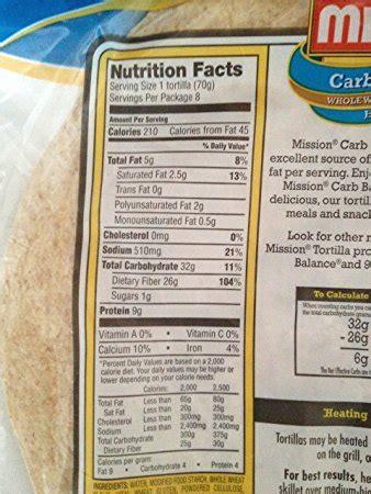 1 whole grain tortilla calories mission whole wheat tortilla nutrition facts