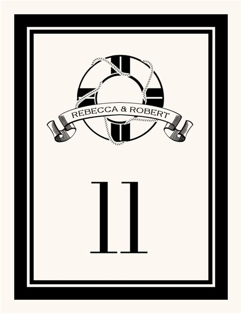 nautical table numbers nautical wedding table numbers nautical theme table