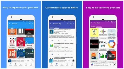 best podcast app for android 5 best podcast apps for android of 2018 free paid