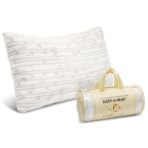 Memory Foam Bamboo Pillow bamboo memory foam pillow