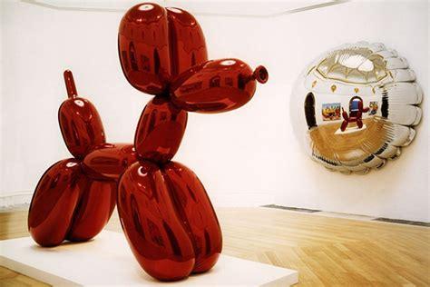 Koons' Balloon Dog Orange Jeff Koons Balloon Sculpture