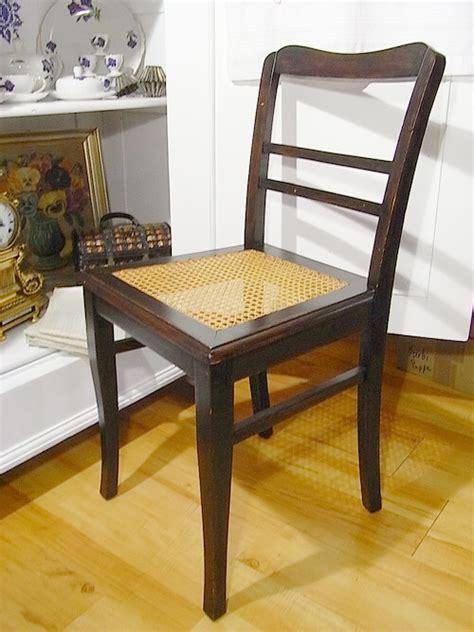 stuhl geflochten alter stuhl 1920 sitz geflochten geflecht gut erhalten