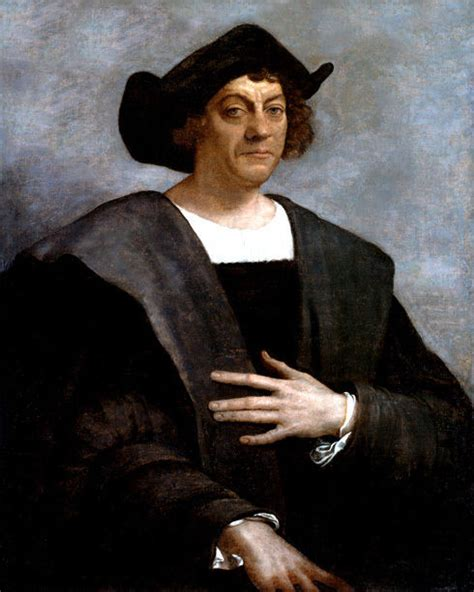 christopher columbus printable biography 1519 explorer christopher columbus glossy 8x10 photo