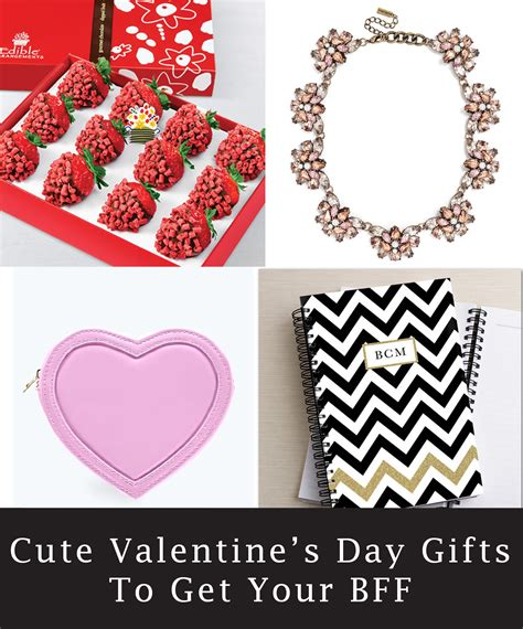 valentines gift for friends 7 and girly s day gift ideas for your bff