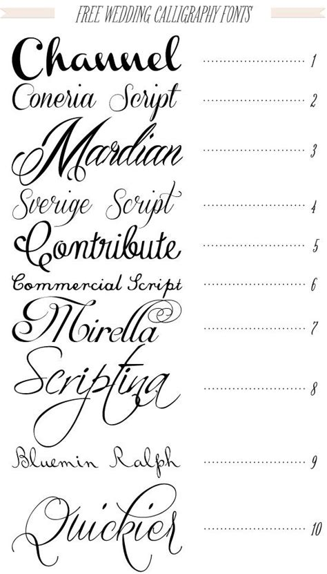printable calligraphy fonts love whimsical feminine fonts tattoothat pinterest