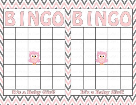baby bingo card template baby shower bingo cards template baby shower invitations