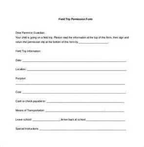 Permission Slips Template permission slip template 14 free documents in pdf doc