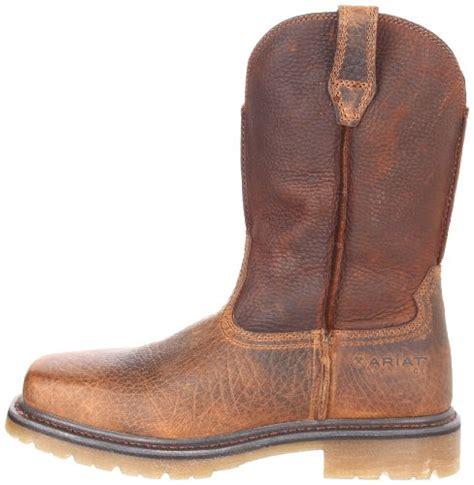 ariat rambler work boots ariat s rambler pull on steel toe work boot import