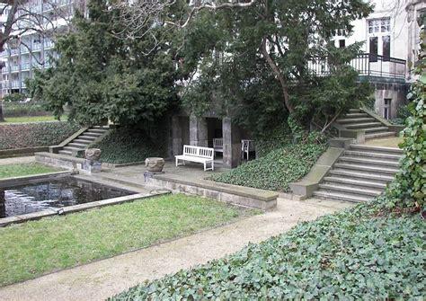 englischer garten senkgarten sunken garden hangterrasse