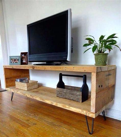 Rak Tv Dari Kayu gambar cara membuat rak tv dari kayu bekas dan 35 desain