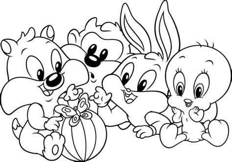 Looney Tunes Para Colorear Club Peque Club Peque