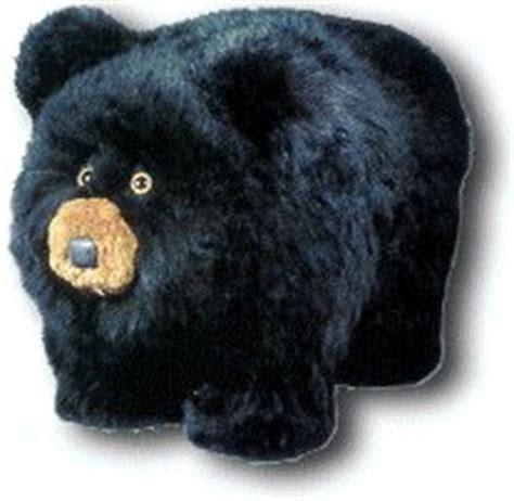 black bear ottoman black bear footstool findgift com