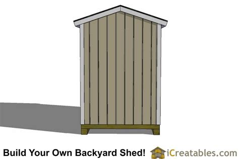 shed plans  storage shed pre hung door